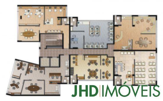 JHD Imóveis - Sala, Três Figueiras, Porto Alegre - Foto 2
