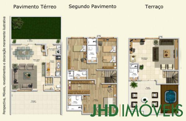 Manajó - Casa 3 Dorm, Vila Assunção, Porto Alegre (5854) - Foto 2