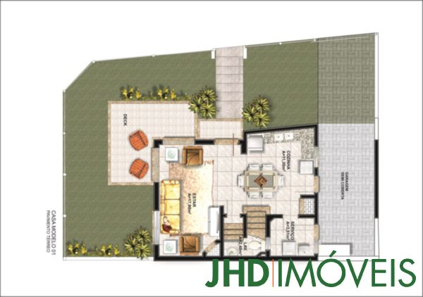 JHD Imóveis - Casa 3 Dorm, Aberta dos Morros - Foto 3