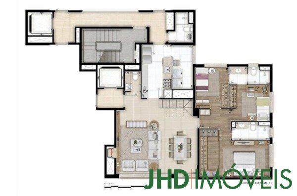 JHD Imóveis - Apto 3 Dorm, Petrópolis (7672) - Foto 16
