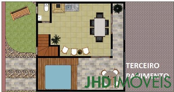 JHD Imóveis - Casa 3 Dorm, Cavalhada, Porto Alegre - Foto 4