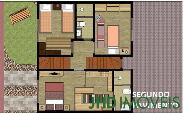 JHD Imóveis - Casa 3 Dorm, Cavalhada, Porto Alegre - Foto 3